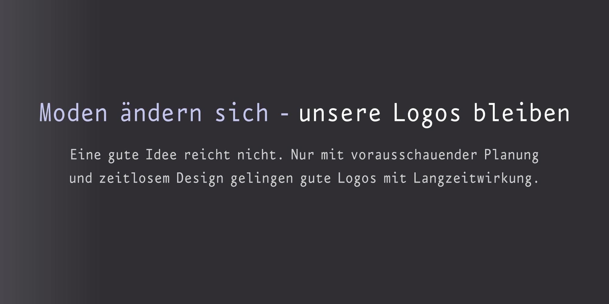 Agentur für Logos Firmenlogos erstellen die langlebig sind