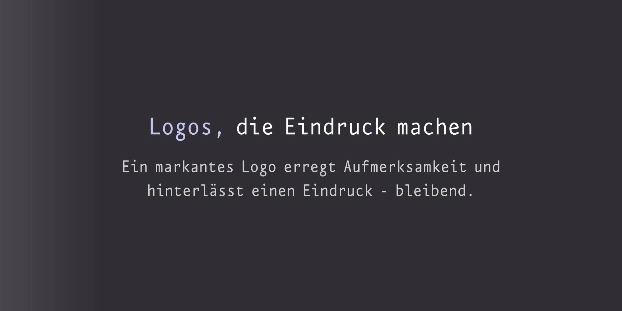 Designer für Signets die Eindruck machen