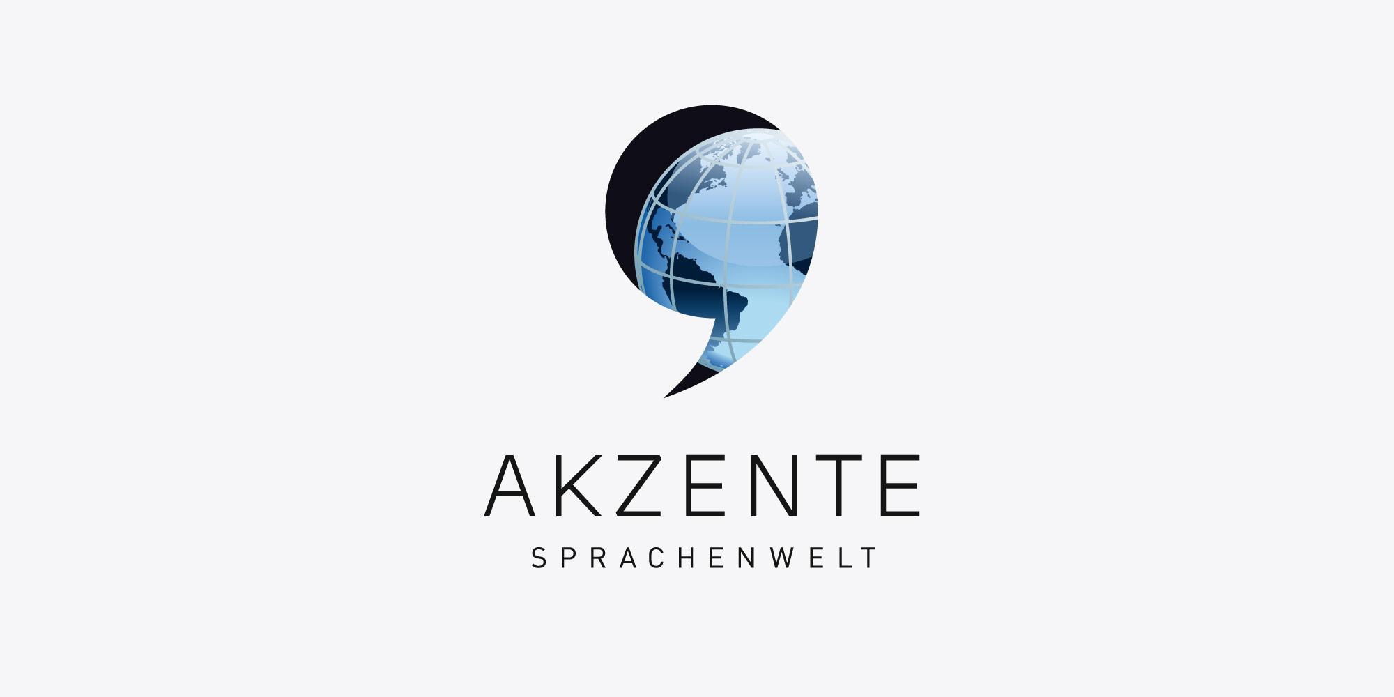 Logo Design Akzente Logoerstellung für Übersetzungsbüros