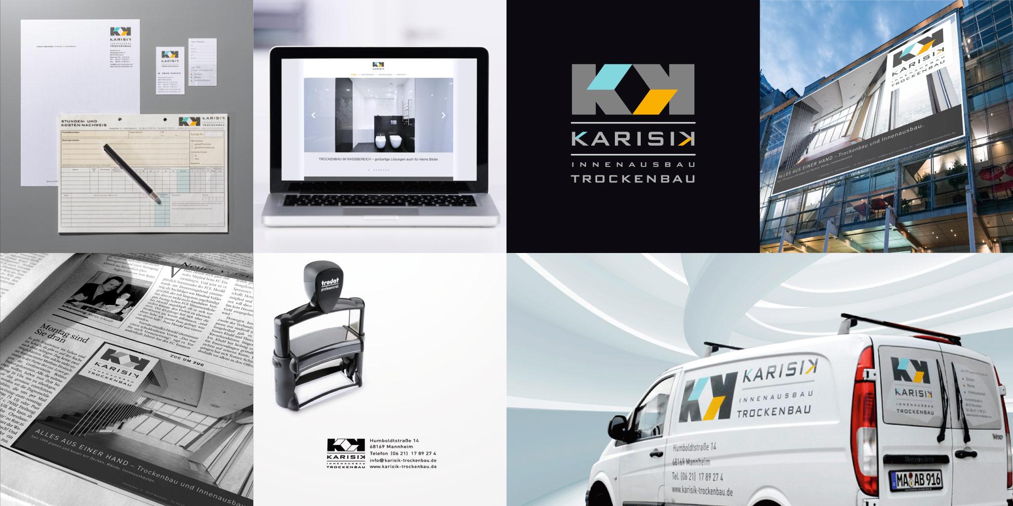Logo entwerfen für Karisik Logoerstellung für Handwerker Handwerksbetriebe