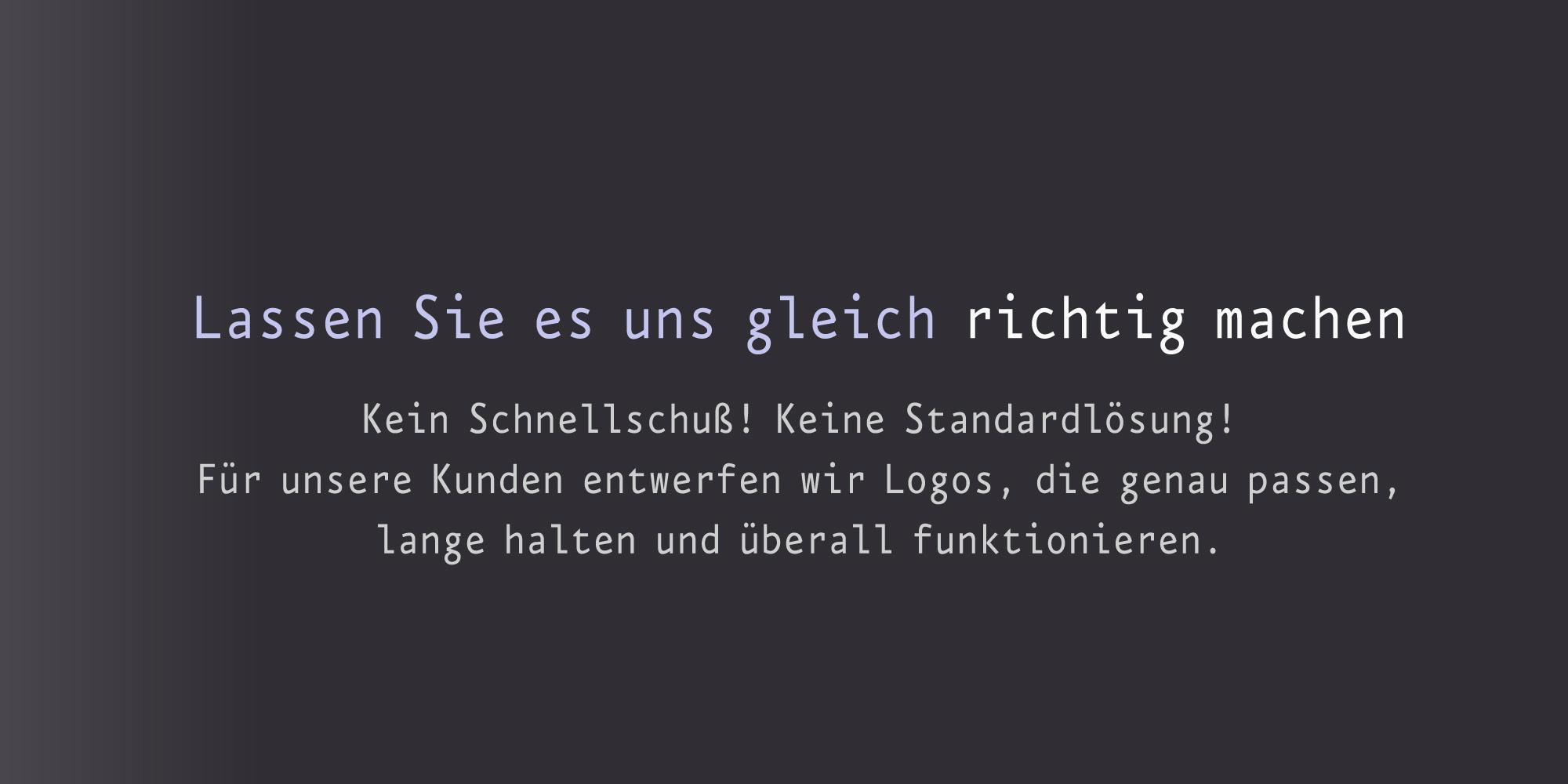 Logo erstllen professionelle Logoentwicklung für gekonnte Logos
