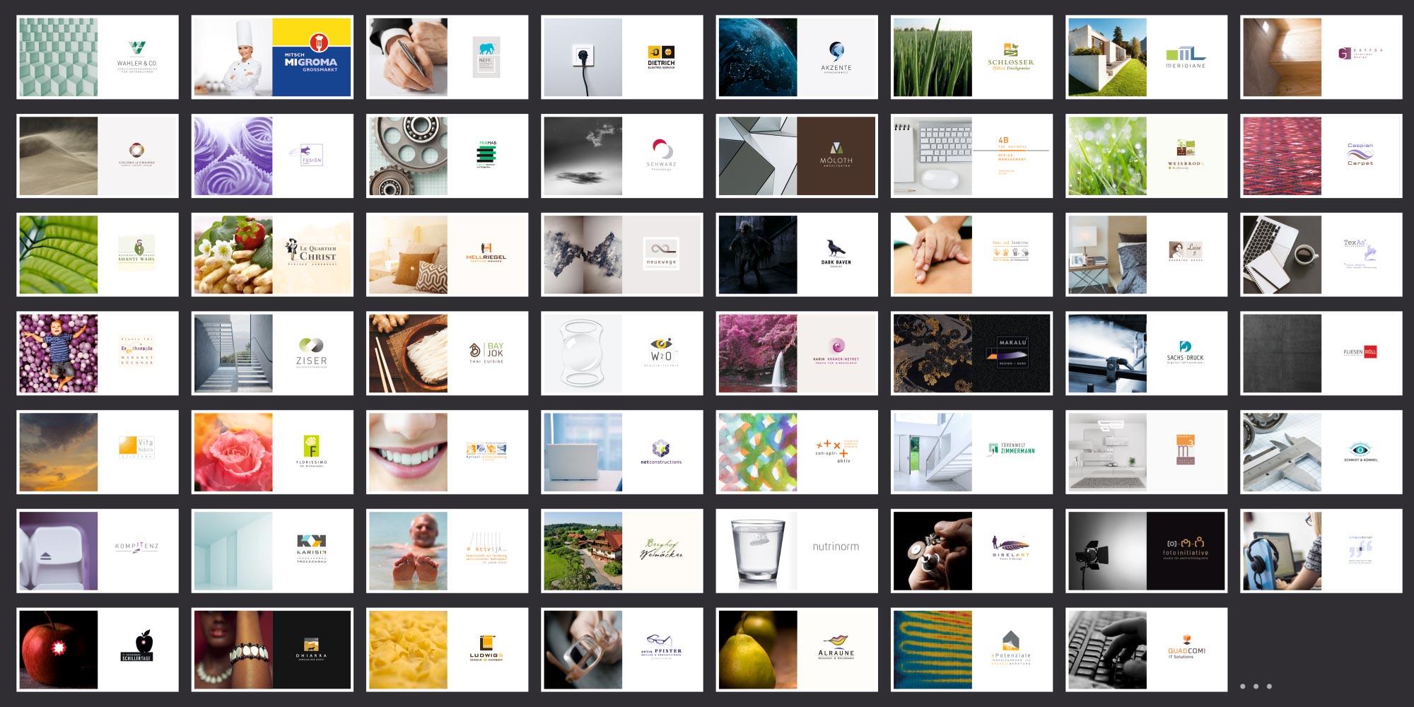 Logodesign Agentur Übersicht Firmenlogos von cross-line