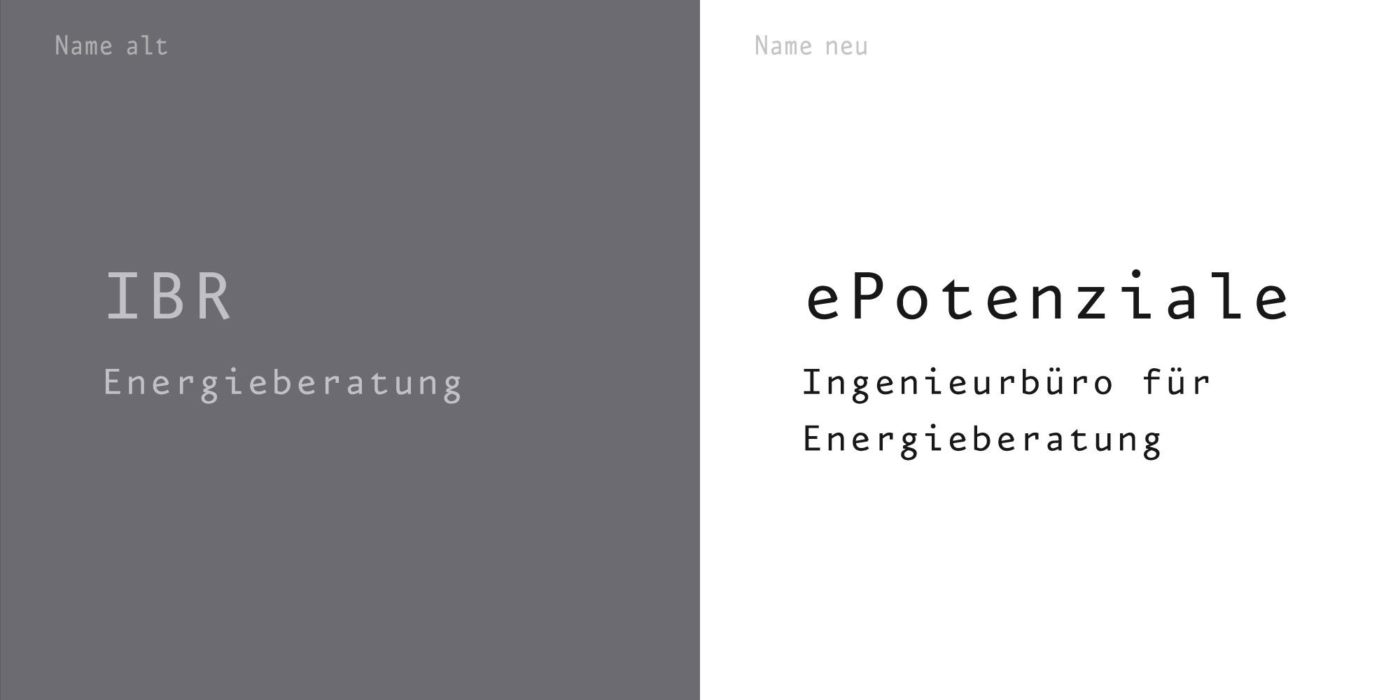 Logos und Namensentwicklung für Unternehmen