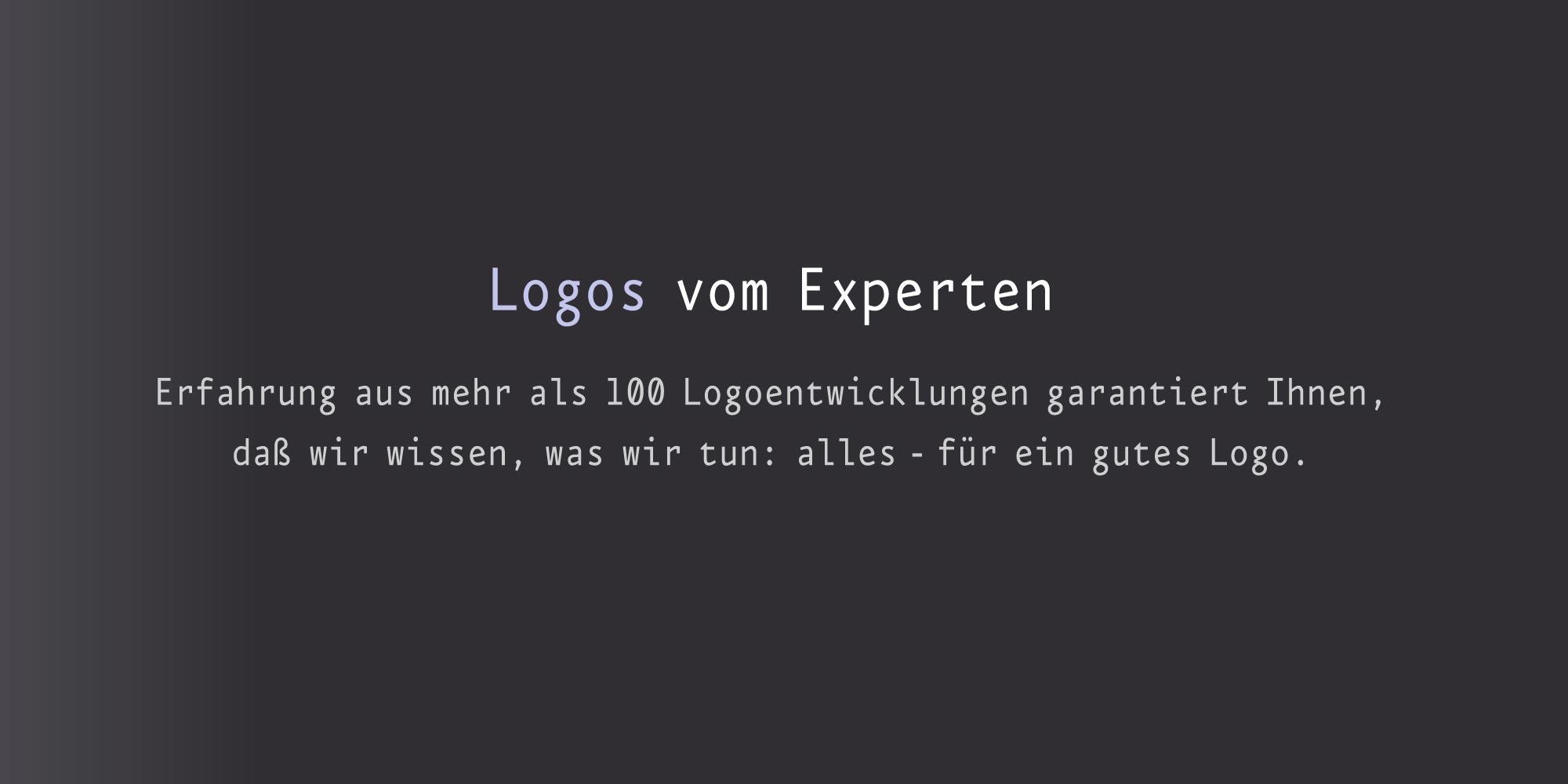 Logos vom Experten professionelle Firmenlogos vom Logodesigner