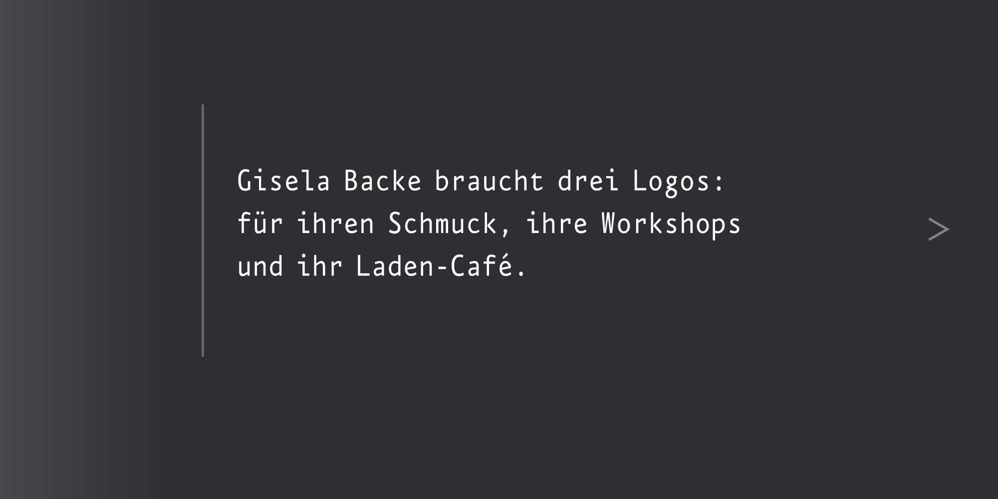 Marken-System Giselart Markensystem aus drei Logos