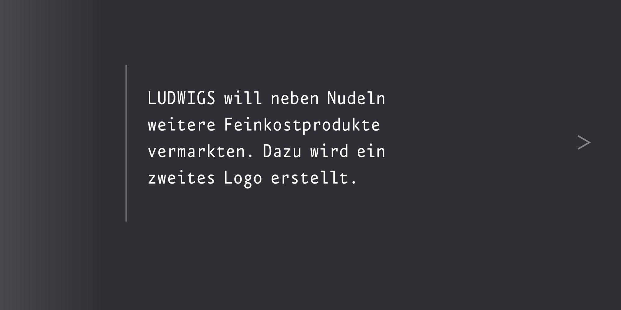 Marken-System Ludwigs neues Logo gestalten